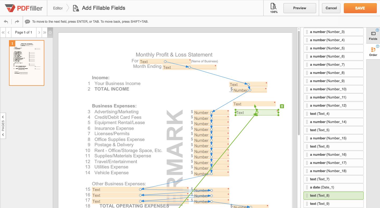 Remove Fillable Fields form PDF | PDFfiller