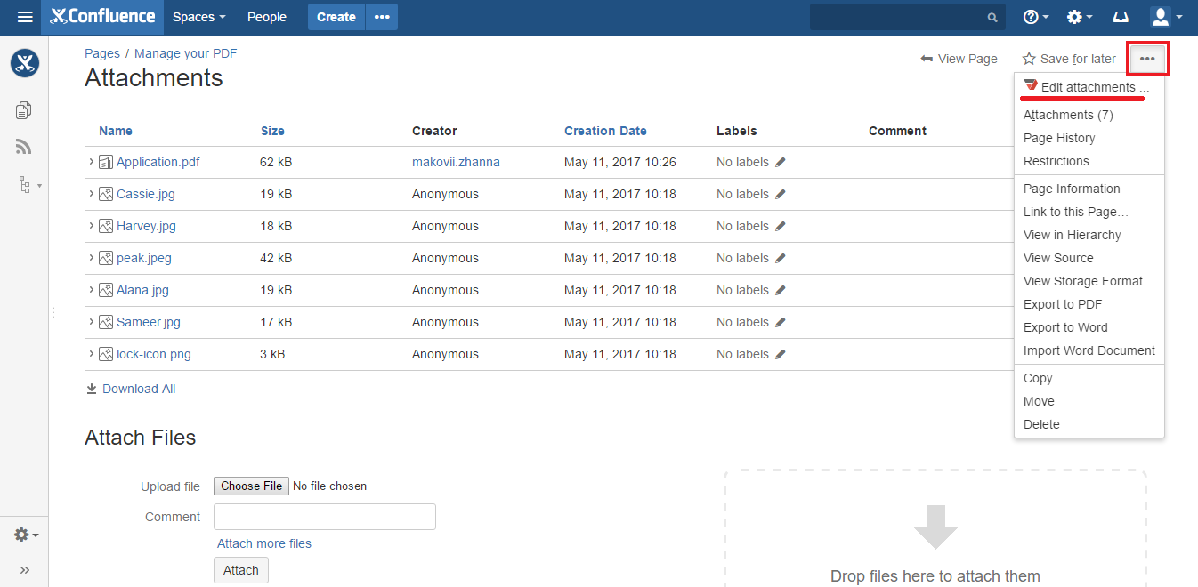 DaDaDocs integration with Confluence