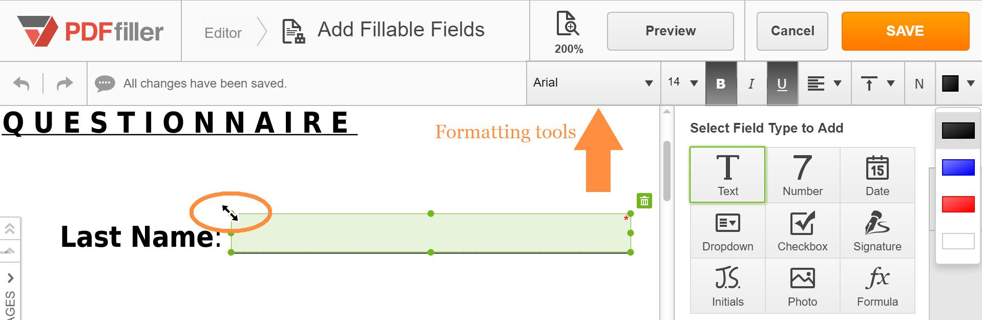 Create Fillable PDF - Make PDF Forms Fillable Online   PDFfiller