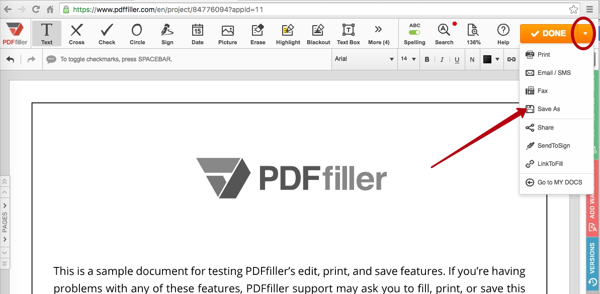 Export PDF: Download Edited Files as PDF | PDFfiller