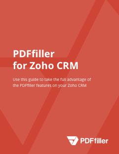 Zoho CRM Guidebook