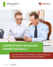 Completing Financing Forms Digitally