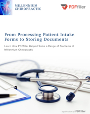 From Processing Patient Intake Forms to Storing Documents